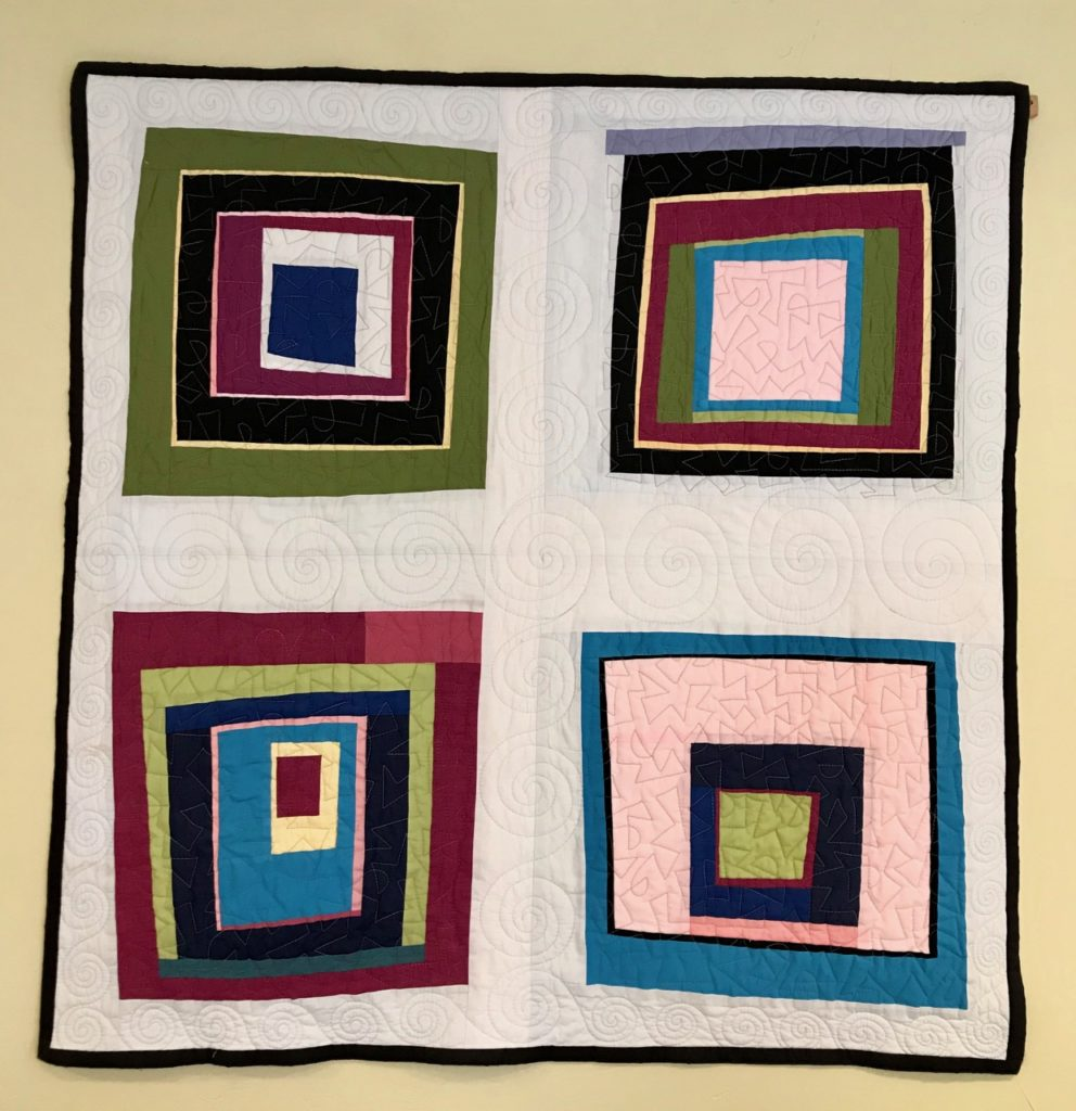 denyse schmidt inspired quilt