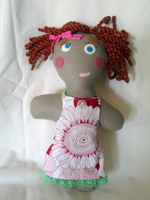 felt doll DIY