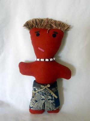 boy surfer doll