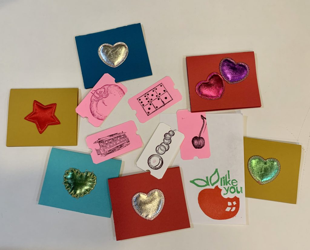 handmade valentine party