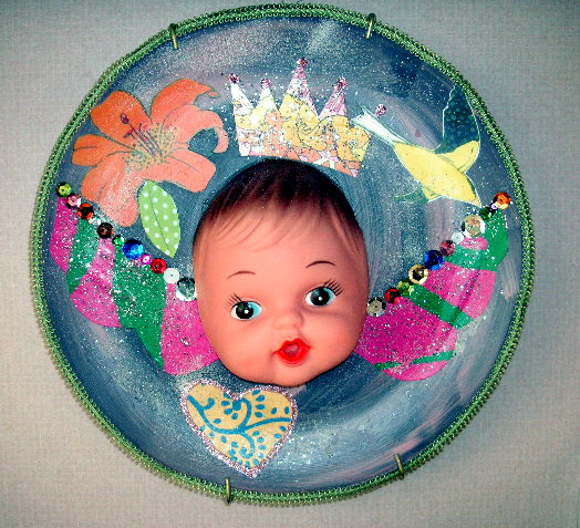 baby doll face plate