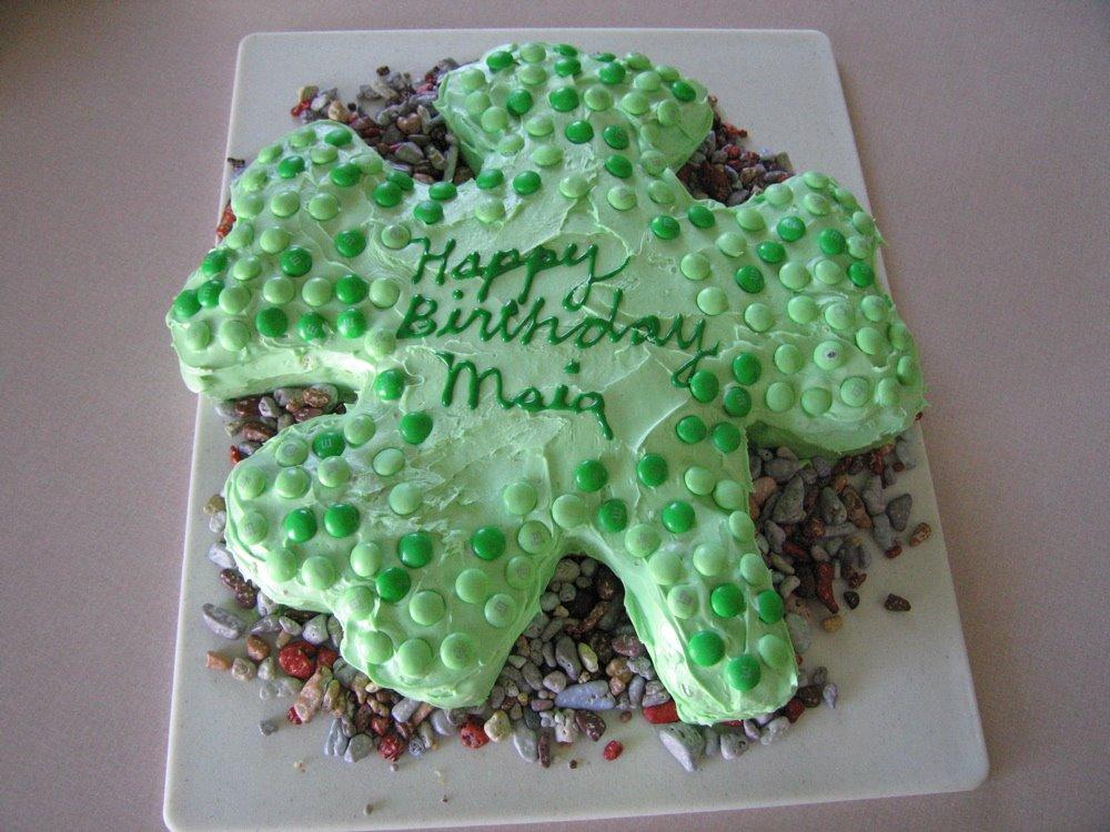 shamrock cake