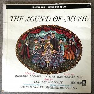 Sound of Music record cover, Coronet Records