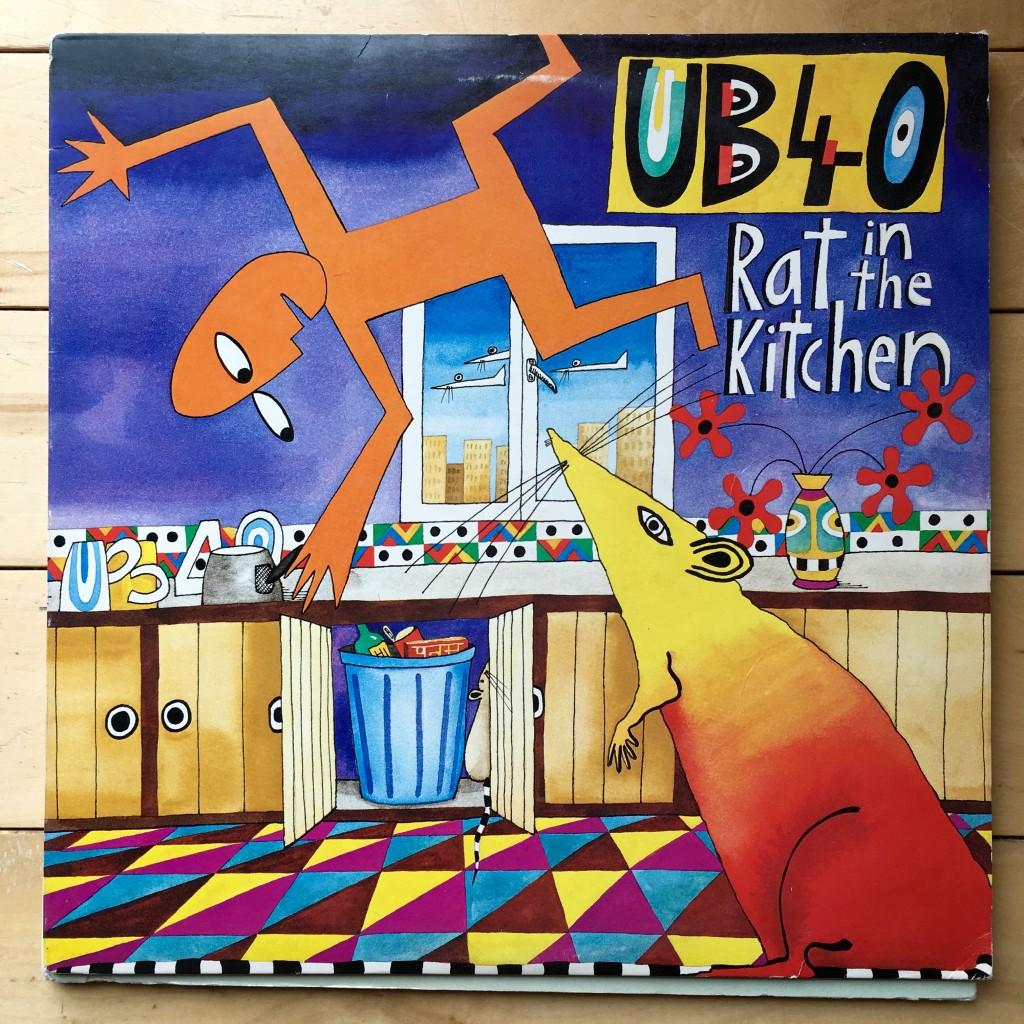 UB40 Rat in the Kitchen album cover 1986