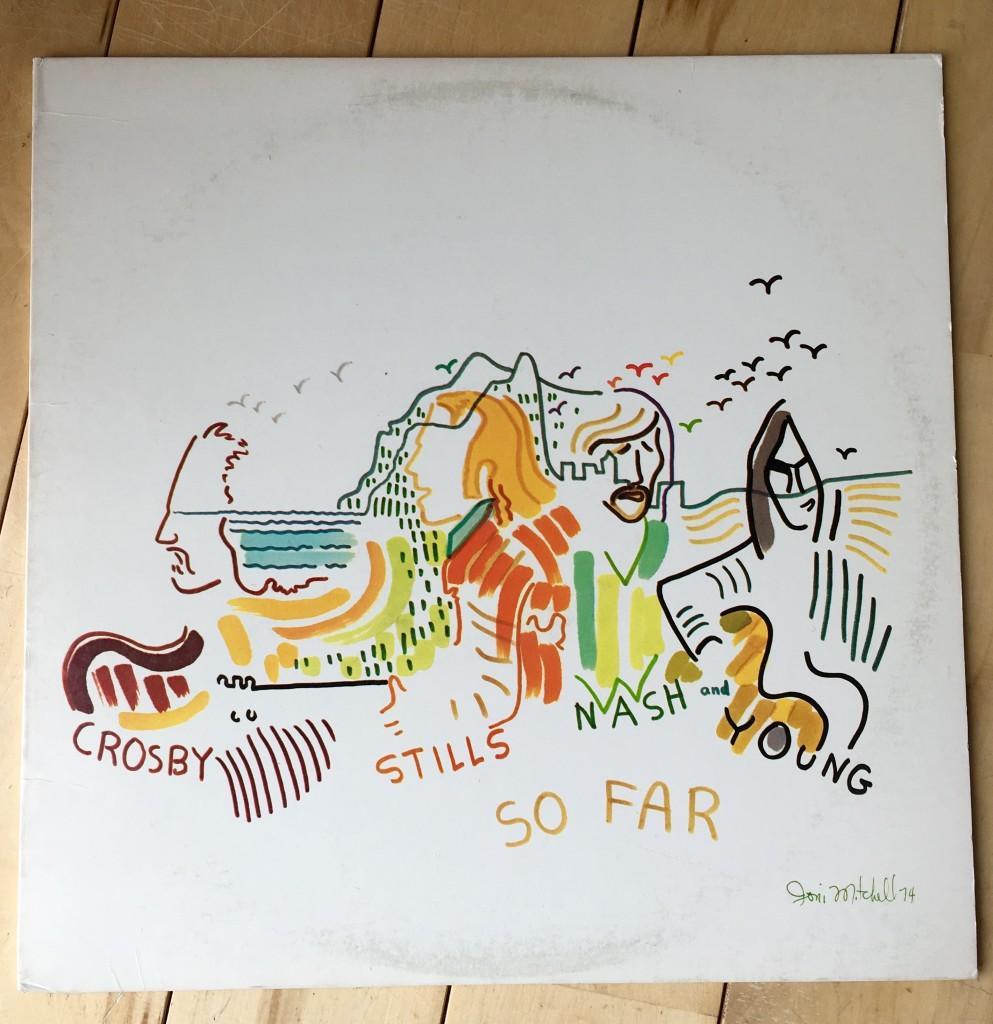Crosby Stills Nash and Young, So Far, 1974