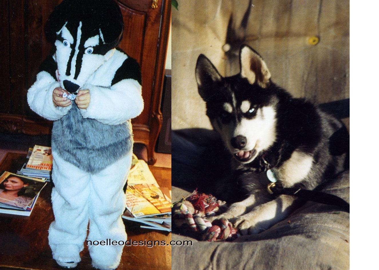 Halloween Costume Gallery husky costume