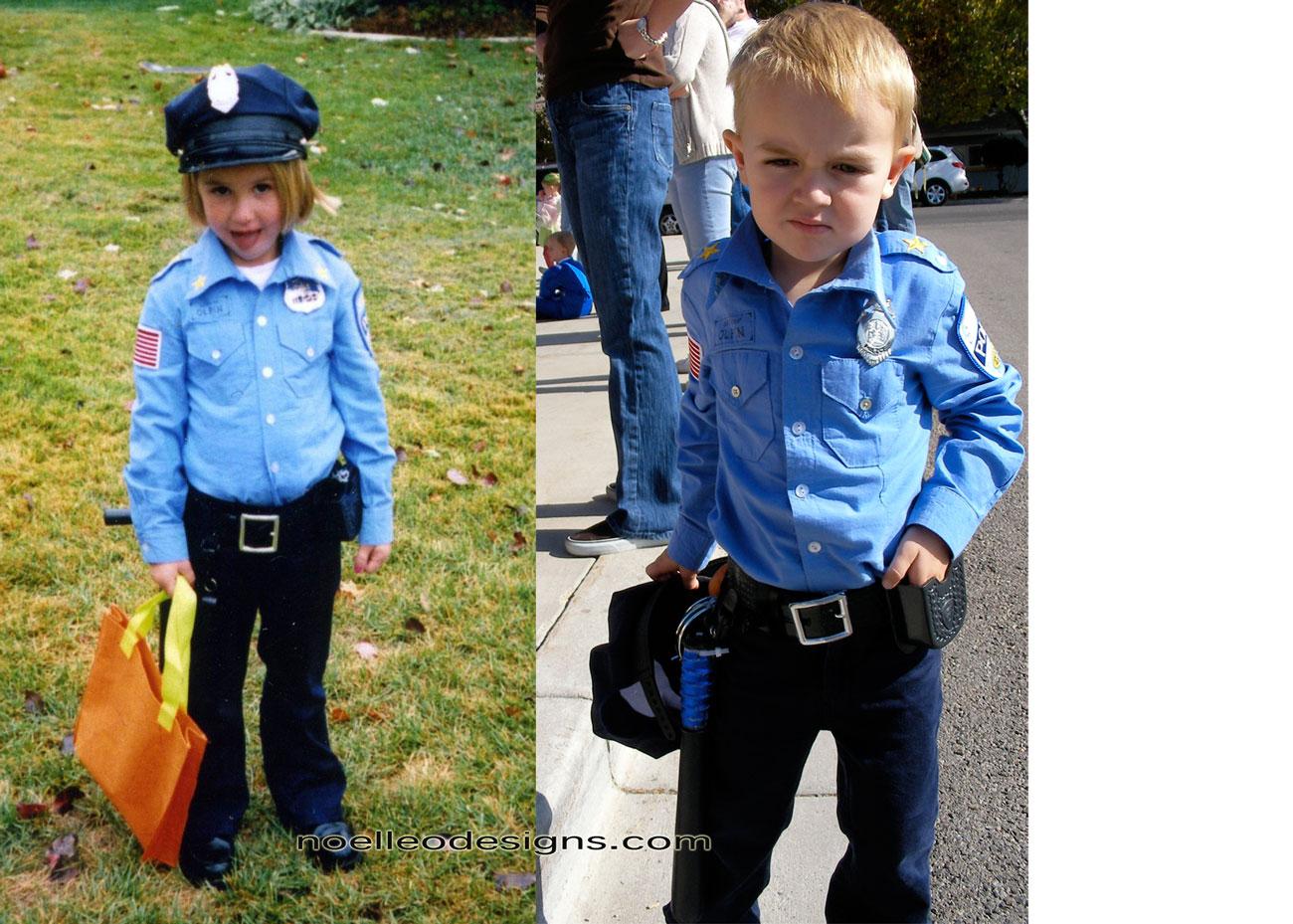 Halloween costume gallery policeman