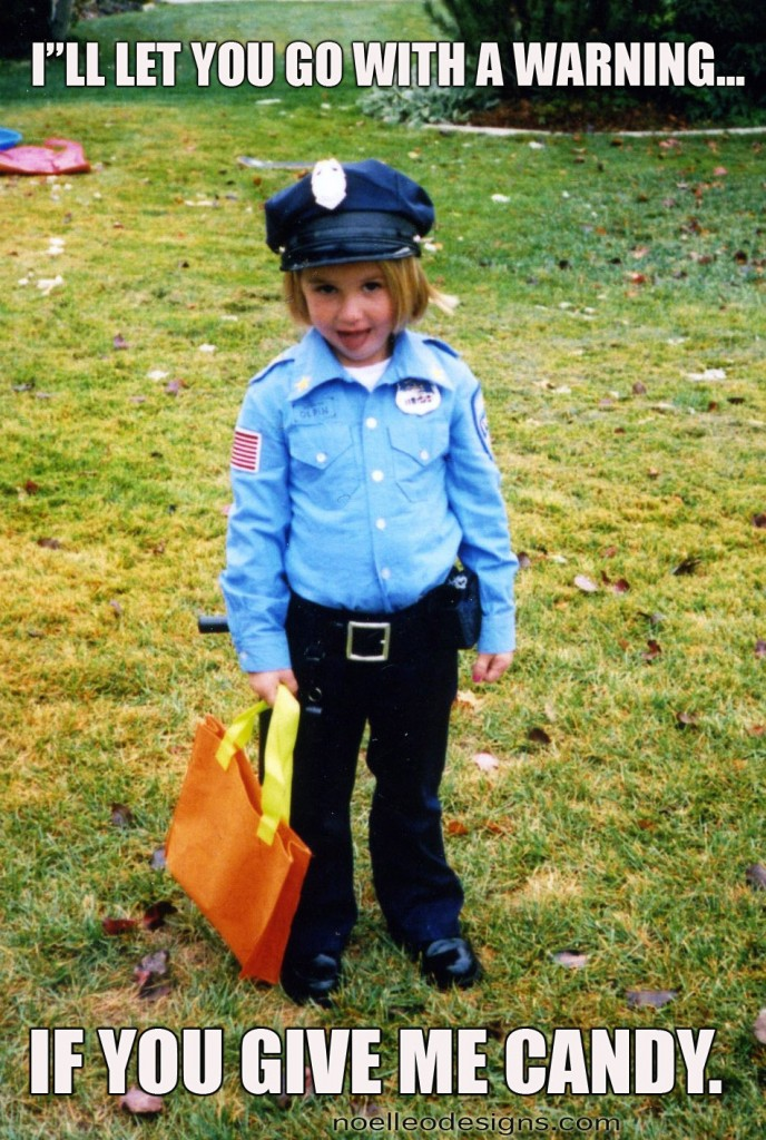 Halloween costume gallery policeman