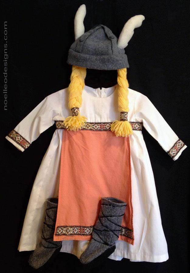baby girl viking costume