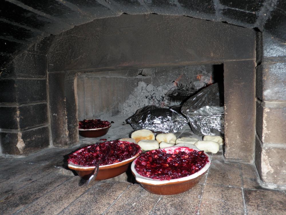 thanksgiving cranberry relish sauce