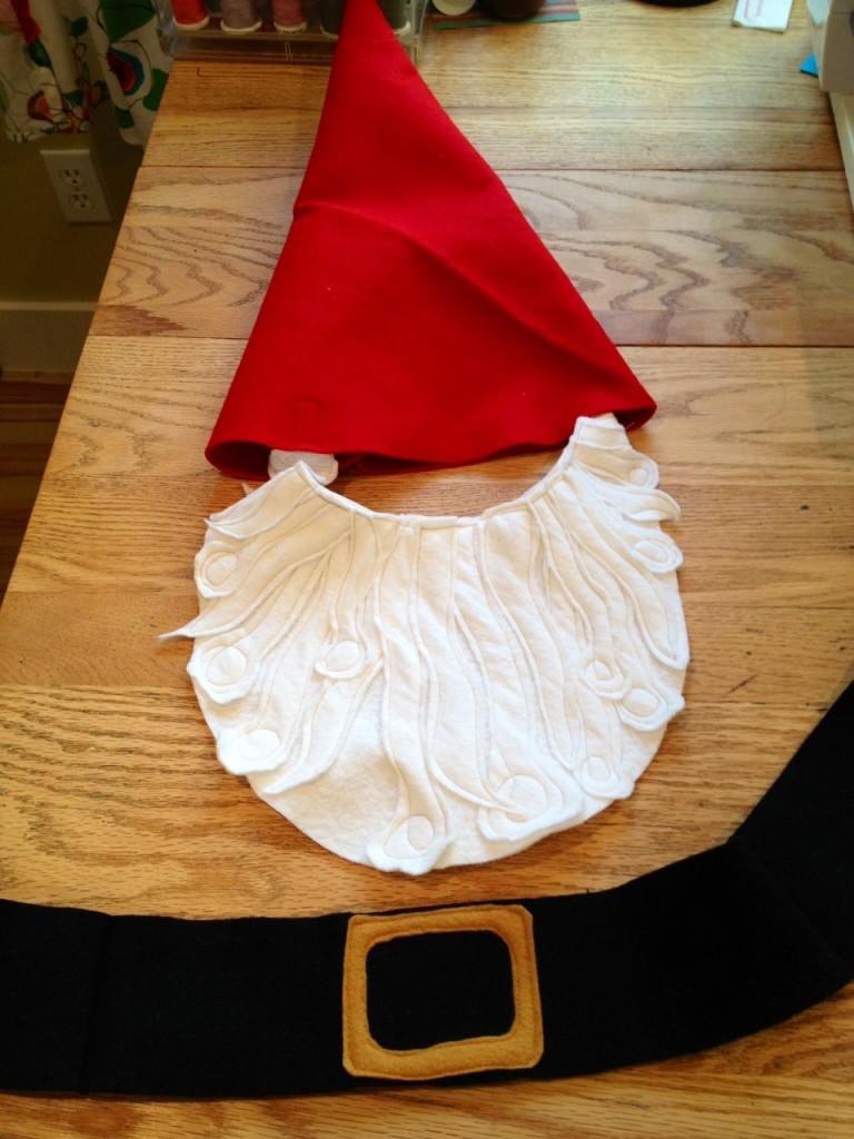 boy gnome costume simple DIY