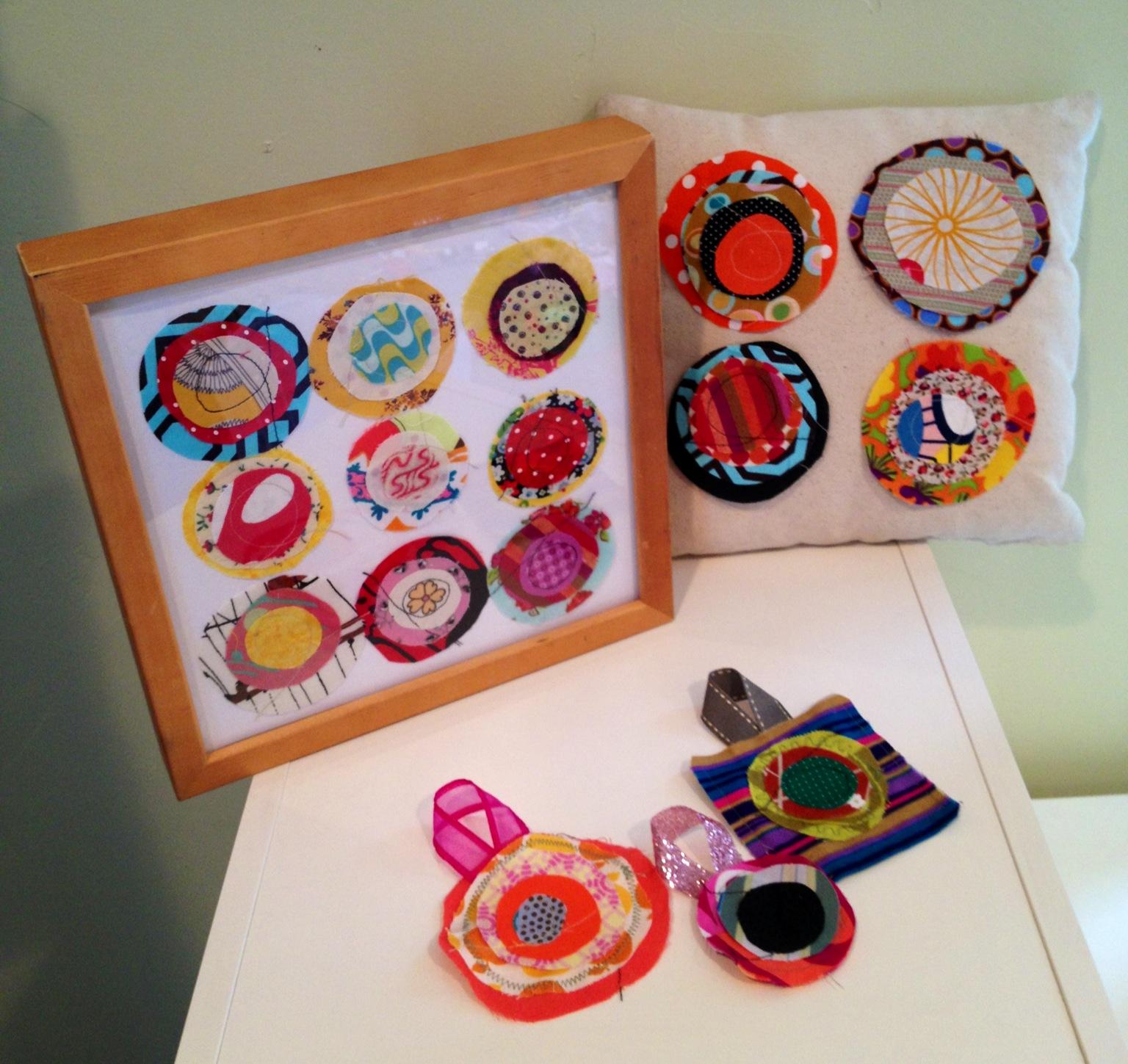 fabric scrap craft ideas