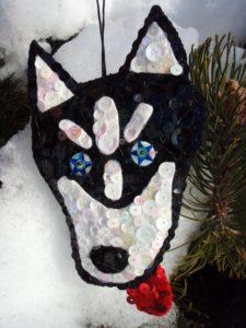 make a personalized pet ornment