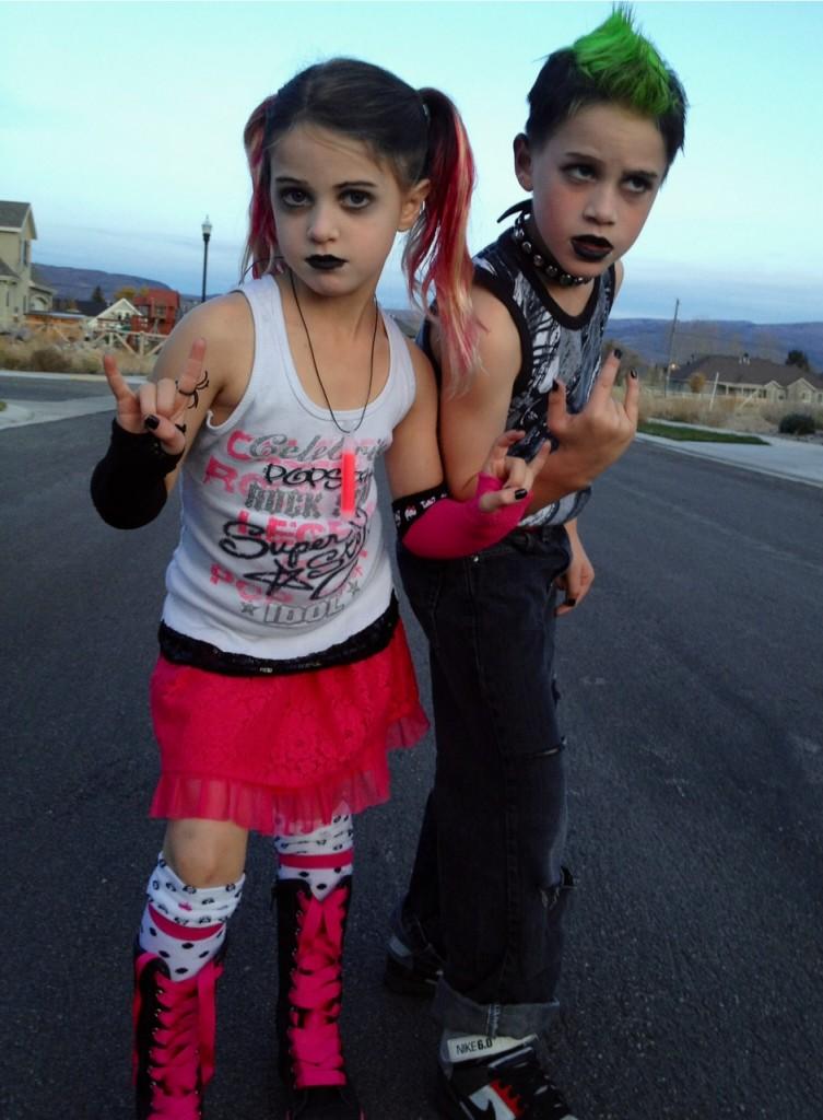 punk rock kid costumes