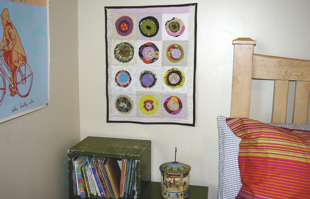 fabric scraps quilt