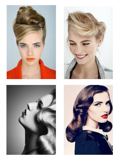 1950's hairdos