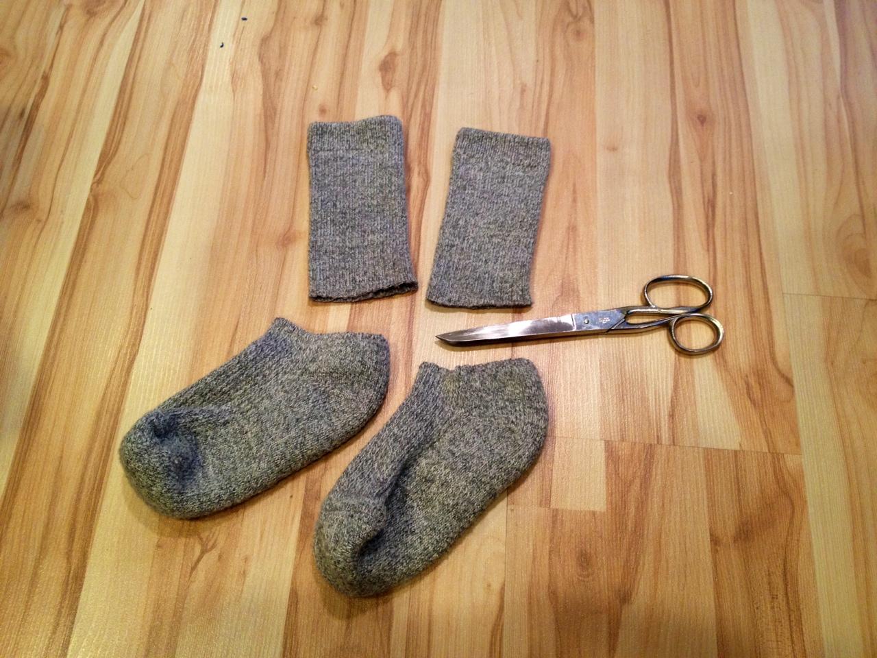 making boot socks DIY