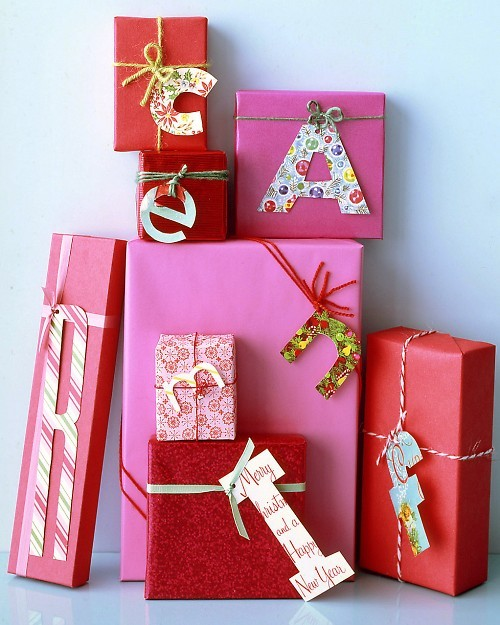 gift wrap with paper letters 11 creatively simple gift wrapping ideas