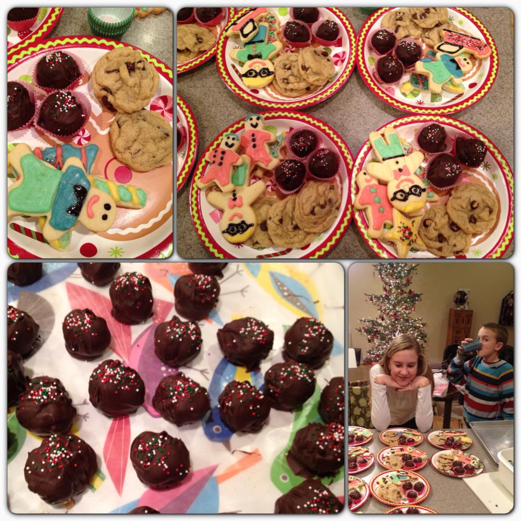 sugar cookies and treats