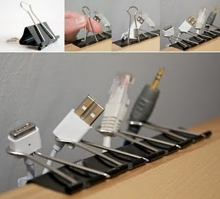 cord organizing 10 organizing hacks