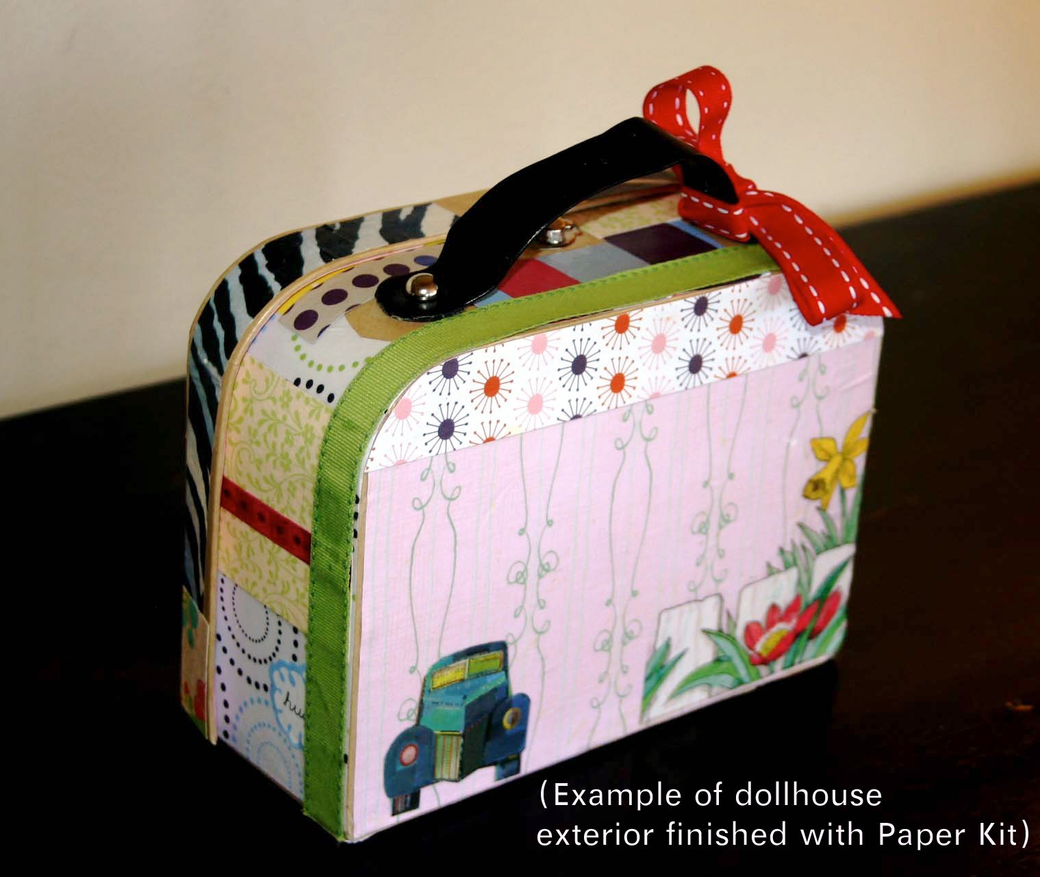 paperboard suitcase