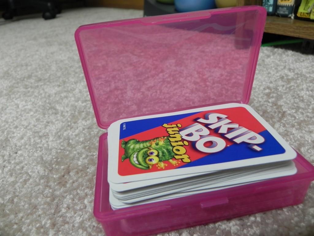 soap holder for card storage