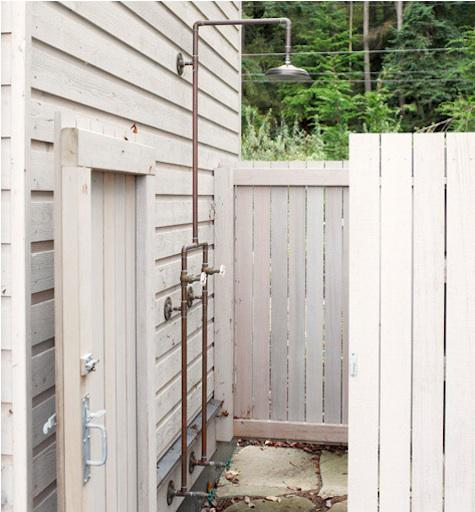 Re: Rookie seeks advice on outdoor shower