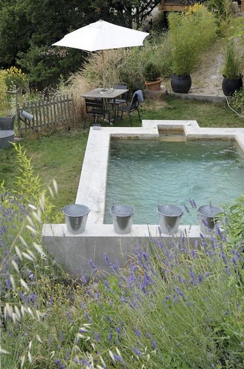 simple swimming pool