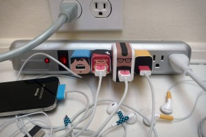 personalized phone charger