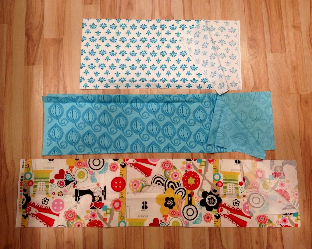 tutorial sew a three tiered skirt