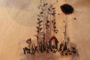 needlework landscape