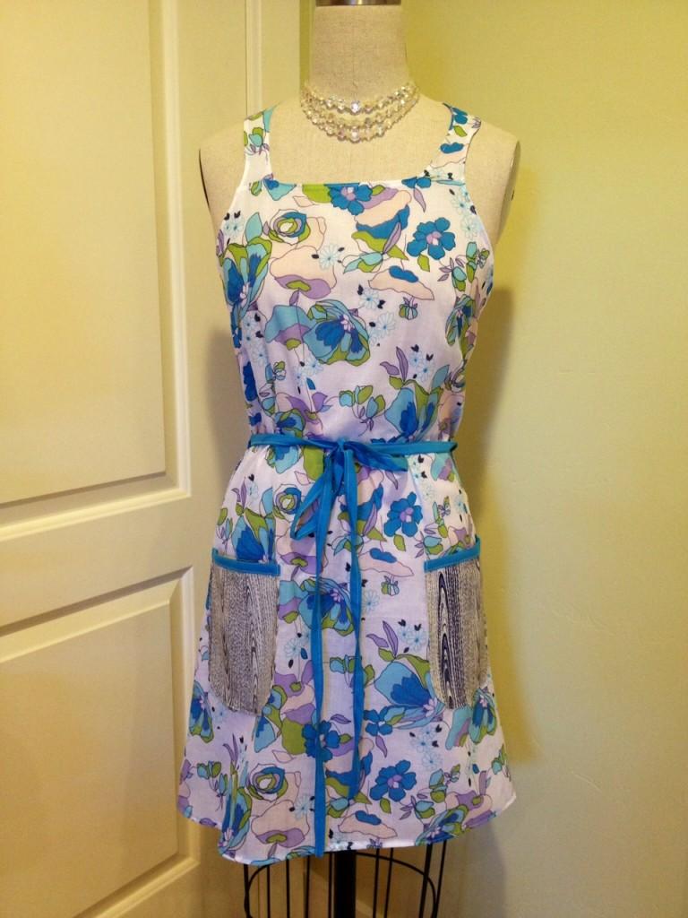 apron lingerie vintage pattern