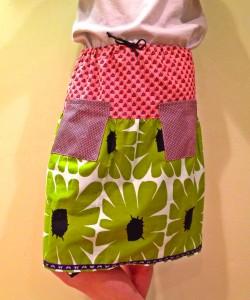 funky pocket skirt