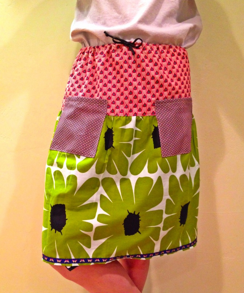 funky pocket skirt