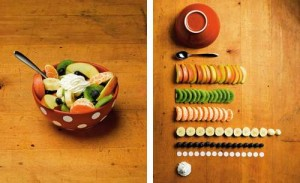 the art of clean up, fruit bowl