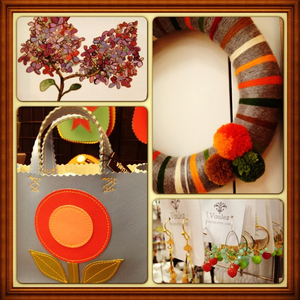 handmade goods, various artists