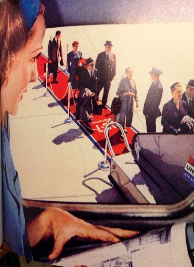1950's airline travel