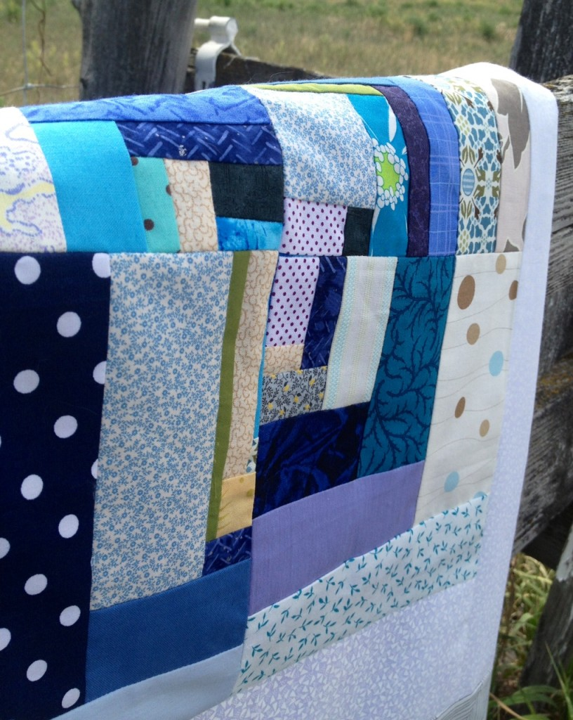 abstract quilt square