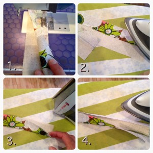 steps to making the handles
