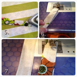 steps for making a purse handle
