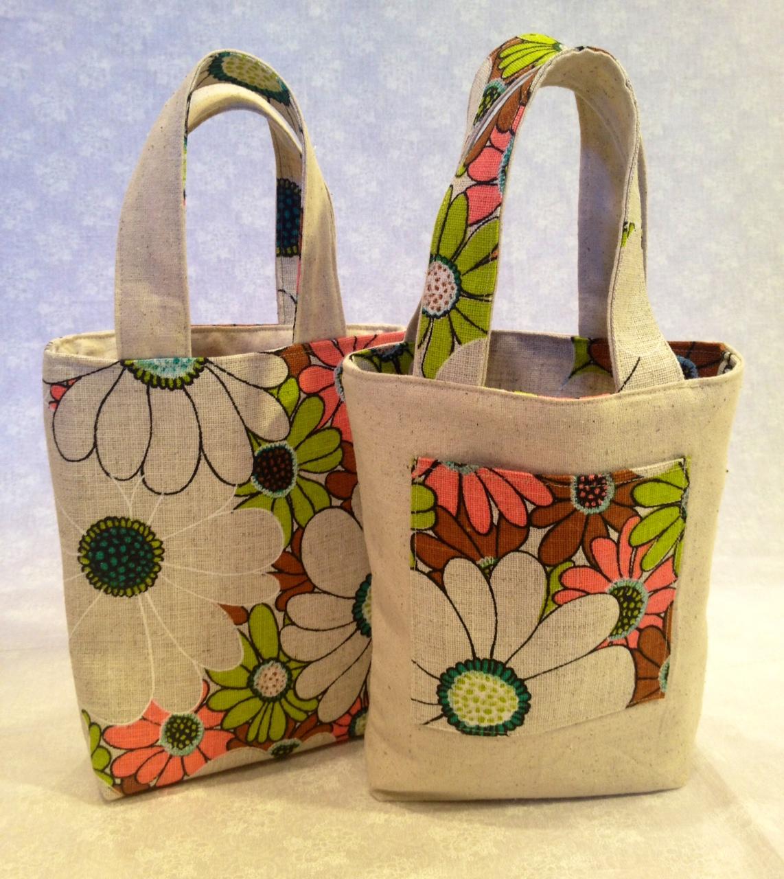 Reversible Tote Bags How To Make One Noelleodesigns
