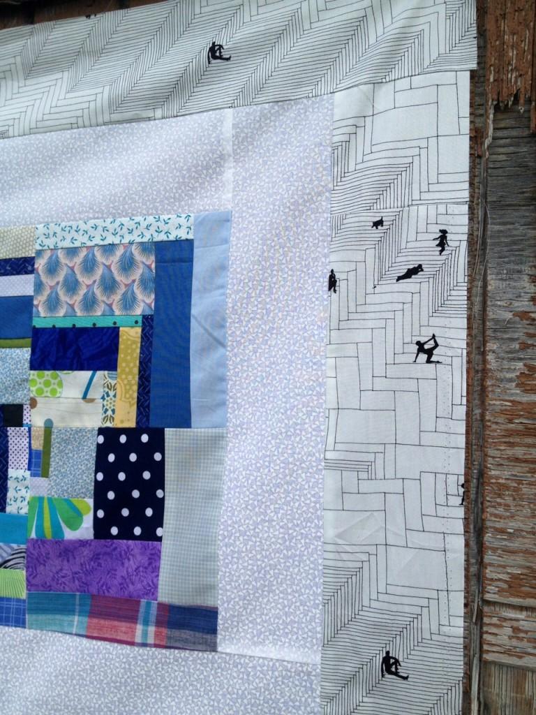 step by step Alexander Henry fabric