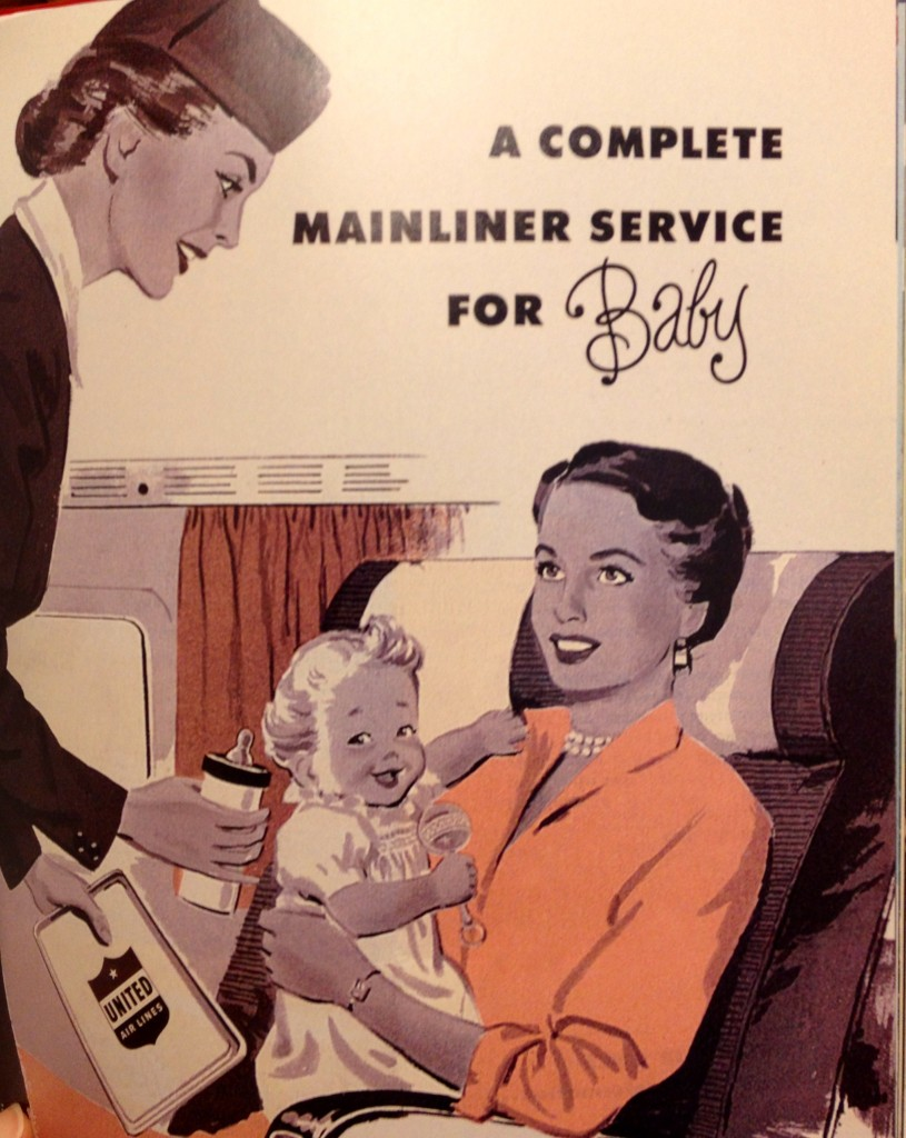 airline service for baby
