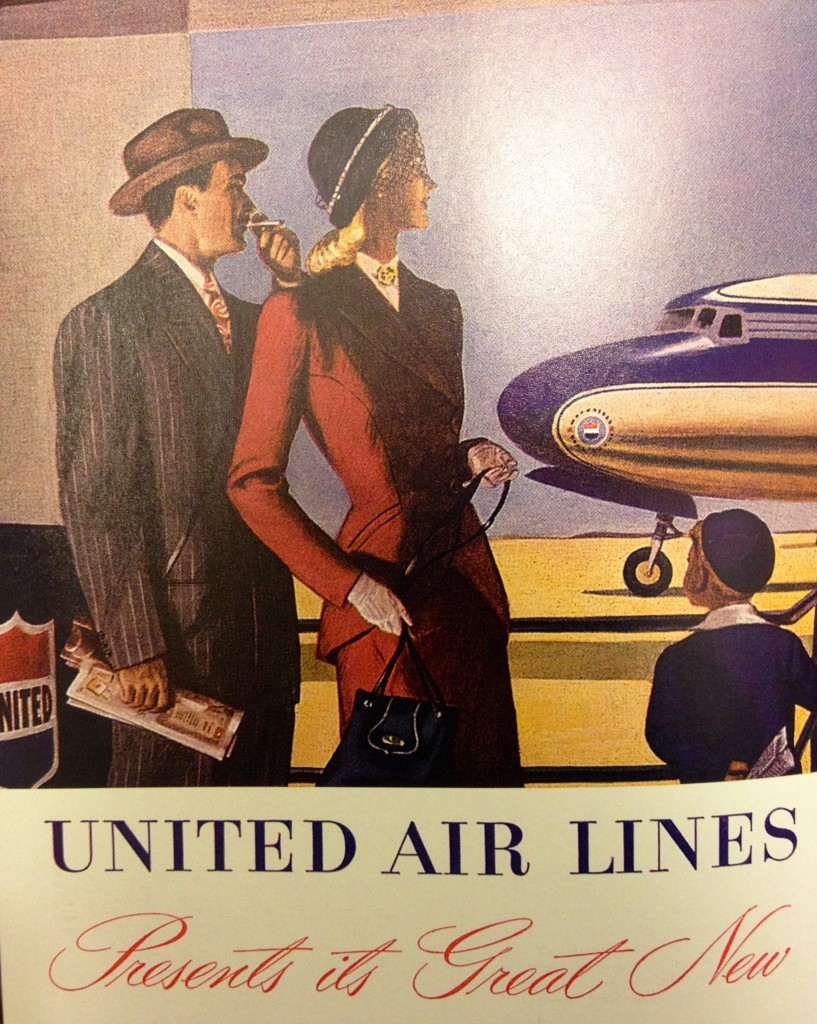1950's United airlines photo