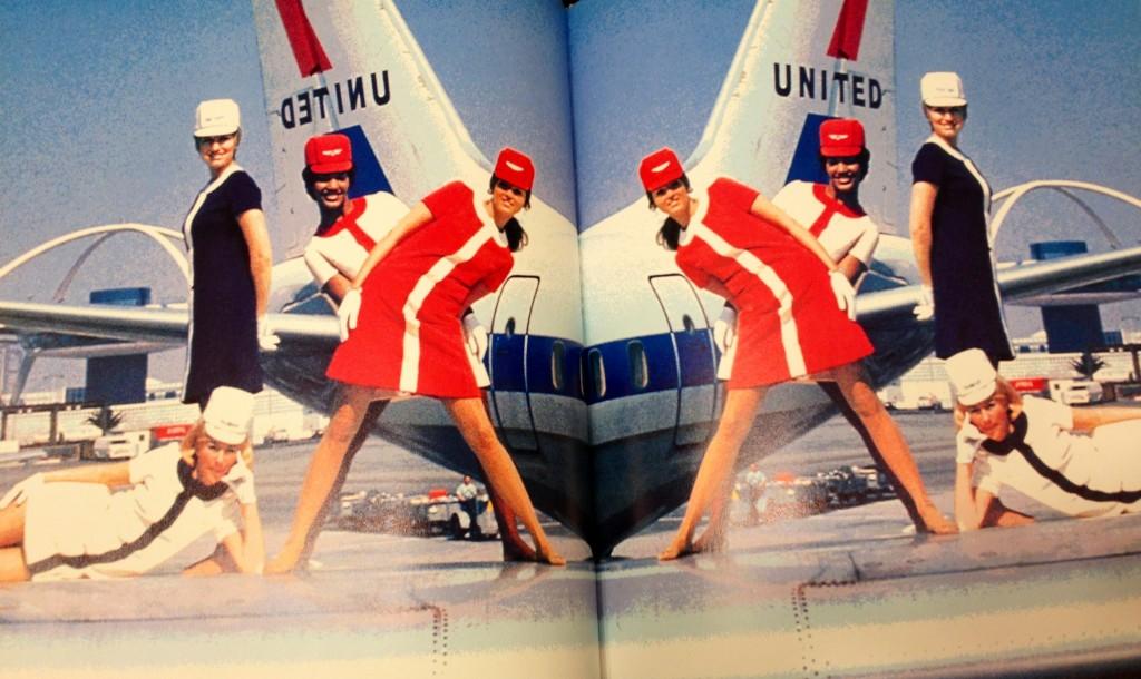 1960's stewardess outfits