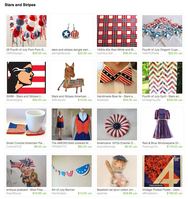 handmade patriotic goods