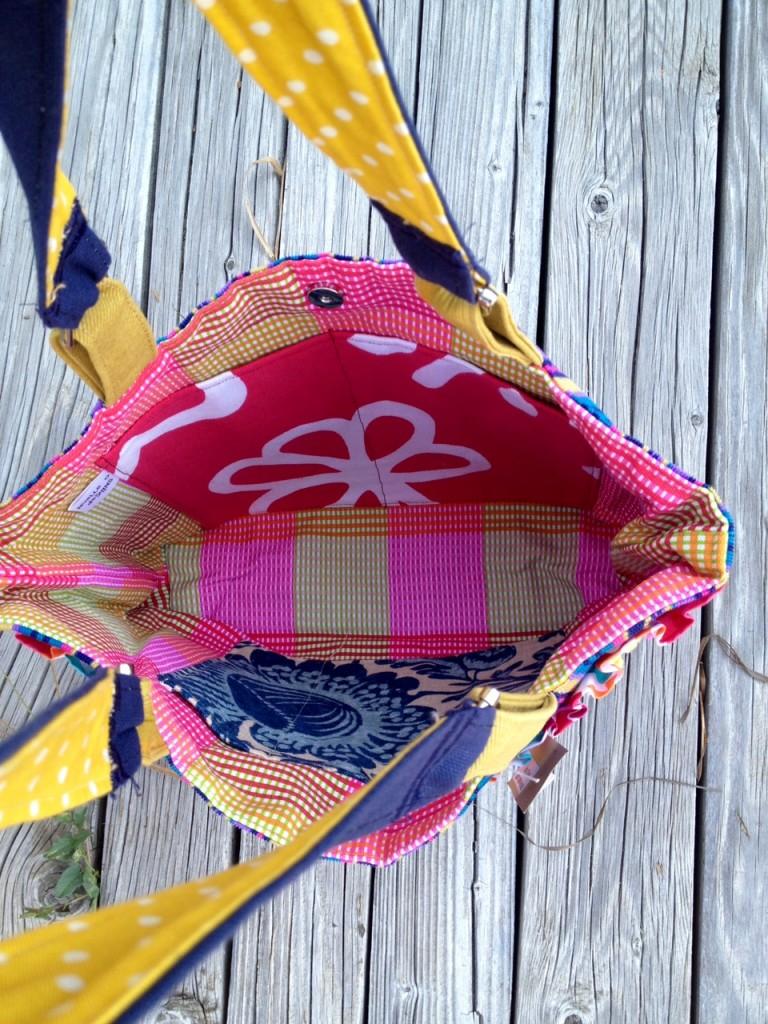 lined purse interior