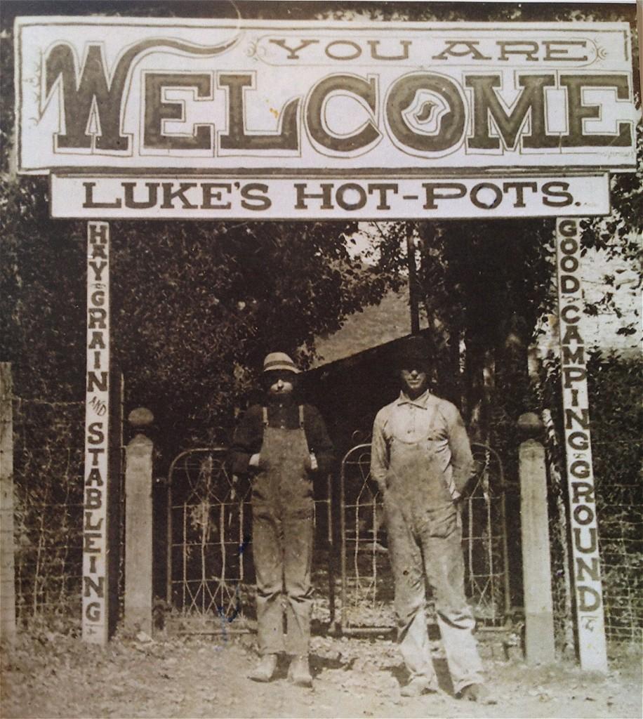 Lukes Hot Pots, Midway UT, historical