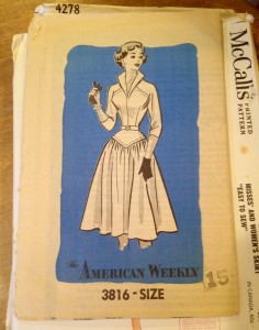 1960's American Weekly dress pattern