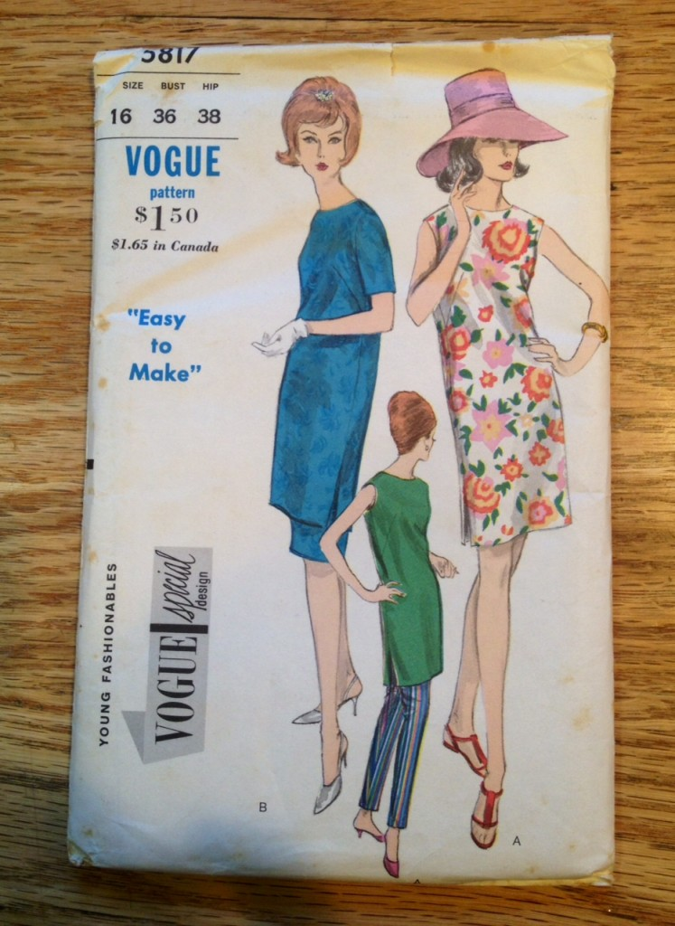1960's dress and hat pattern